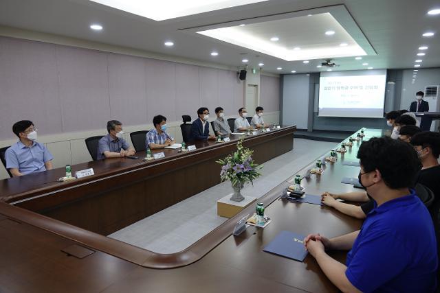 상반기 장학금 전달식 및 학생회 간담회 개최